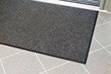 Tapis de propreté strié - L x l 1200 x 900 mm gris - Caillebotis Essuie-pieds Tapis Tapis de propreté ...