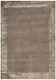 Tapis de salon design moderne 100% laine Ascot Rug 80x150 cm Taupe