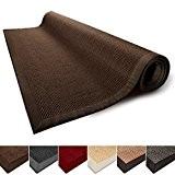 Tapis de salon marron 100% Sisal naturel casa pura® Amazonas | 3 tailles | bordure coton | dos latex antidérapant ...