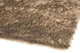 Tapis de salon moquette Carpet hochflor Design WHISPER SHAGGY RUG 100% Polyester 200x300 cm rectangle Brun | Tapis acheter en ...