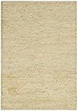 Tapis de salon moquette Carpet tissé à plat poil ras Design SOUMAK RUG 100% Jute 200x300 cm rectangle Beige | ...
