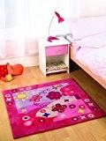 Tapis Kiddy Play été - rose - 90 x 90 cm