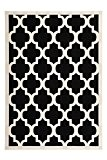 Tapis Maroc 2087 Noir Noir 160cm x 230cm 100% polypropylène
