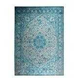 Tapis motifs orientaux bleu Chi - Couleur - Bleu