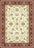 Tapis Oriental, 250x350 cm, laine, densité 1 000 000 nœuds par mètre beige, bordeaux !!! (250_x_350)