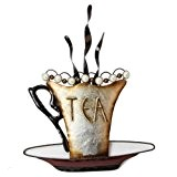 Tea - Metal Wall Art, from Juliana Home Living. A decorative, modern, metal wall plate, ideal gift for the home, ...