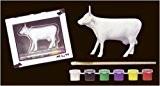 Vache Parade Peinture votre propre Vache (47257) en résine Taille M