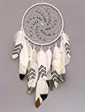 vgia fait main Dream Catcher avec plumes Mur Décoration à suspendre Craft cadeau