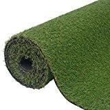 vidaXL Gazon artificiel vert 1x8 m/20-25 mm Pelouse synthétique pour véranda terrasse