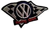 Volkswagen Vw Victory Racing Sport Logo Patch ''10,5 x 6,0 cm'' - Écusson brodé Ecussons Imprimés Ecussons Thermocollants Broderie Sur ...