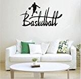 Vovotrade Basket-ball Sport amovible Autocollant Mural Chambre Mural Decal Home Decor Vinyl Art