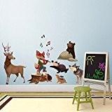 Wall Art r00375Stickers muraux pour enfants, du Rat Attrape-rêves Multicolore 120x 40x 0,1cm