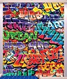 Walltastic 43855 Fresque murale  Papier Rouge/Bleu/Jaune 243 x 305 x 0,1 cm