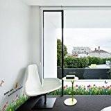 Walplus Autocollants muraux en forme d'herbe et papillons