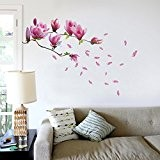 Walplus Sticker mural magnolia géant