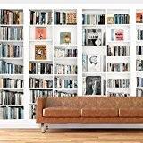 Walplus WM19018 bibliothèque de décoration d'intérieur