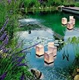 Wenko 8522500 Luminaria Lot de 4 sacs en papier décoratifs flottant pour bougies chauffe-plats 11 x 18 x 11 cm