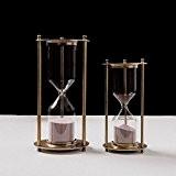 WHH Sablier de métal vintage haut de gamme américain sablier la décoration de la salle de séjour , s (30 ...