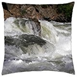 White Waters - North Fork Payette River - Throw Pillow Cover Case (18