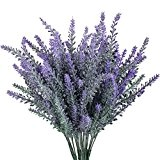 WINOMO 4pcs artificielle lavande Bouquet violet fleurs Bridal Maison Jardin bricolage Bureau mariage Decor