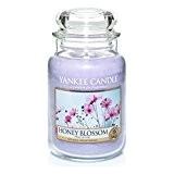 Yankee Candle 1254064E Bougie Parfumée en Pot Nectar de Miel Violet