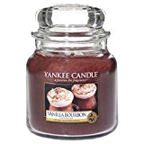 Yankee Candle 1342454E Bougie senteur Vanille Bourbon Marron