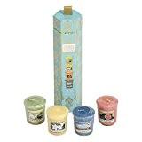 YANKEE CANDLE - 1547737 - COFFRET HAVANA 4 BOUGIES VOTIVES PARFUMEES