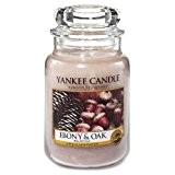 Yankee Candle - Grande Jarre Ebony & Oak Yankee Candle