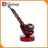 YDD tuyau de bambou / perche droite santal rouge grille seau / tuyau de fumer