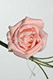 yf43Pêche Bouquet de 6roses Cottage en mousse–5055378700590