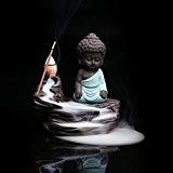 Yuhan Boutiques Zen Creative Décoration de la maison Parfums d'intérieur Brûleur d'encens Argile pourpre Kung Fu Moine Base d'encens Porte-encens ...