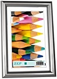 Zep S.r.l BDS9 Basic Cadre Photo Plastique Argent 30 x 40 cm