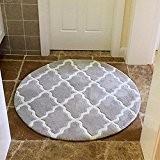 ZiXuan Moquette ronde / moquette simple de mode ronde / tapis de haute densité à la maison peut être lavé ...
