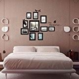 zooarts les Stickers Memories Cadre photo stickers muraux Decor Vinyle Salon Chambre Papier peint