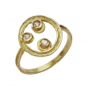 Jewelry - bague celeste triple