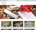 Marque place mariage vintage Circus - idee-faire-part.fr