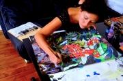 site artiste atelier - Linda Bachammar