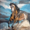 Painting - cheval