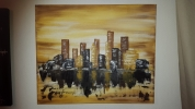 Painting - city abstrait