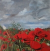 Painting - coquelicot 4