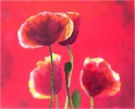 Painting - Coquelicots rouges