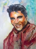 Painting - Elvis Presley