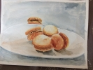 Painting - macarons