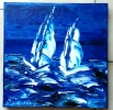 Painting - MARINE VOILIERS