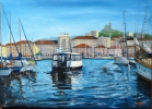 Painting - MARSEILLE : Le Ferry Boat