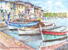 Painting - Martigues 01 TZ 03