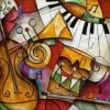 Painting - multimusic