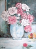 Painting - Pivoines