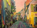 Painting - Rue L