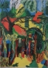 "Peinture d'art - "" jungle """